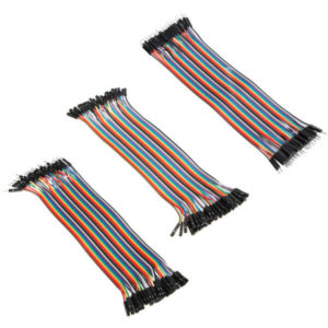 120pcs 20cm Male To Female Female To Female Male To Male Color Breadboard Jumper Cable Dupont Wire