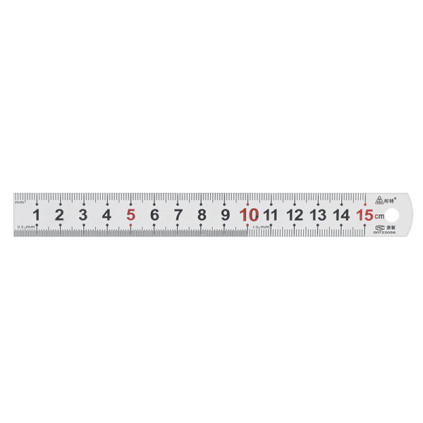 150-1200mm Thickened Stainless Steel Ruler with Metric and Inch Scales Woodworking Scriber Measuring Tool