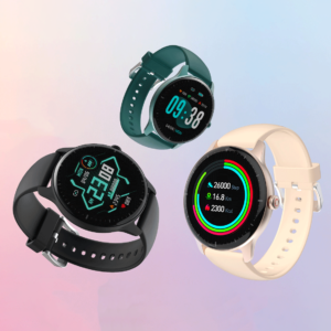 [21 Days Long Standby] Doogee CR1 1.28 inch Full Touch BT5.0 24-Hour Heart Rate Monitor 13 Sporting Modes Multiple Dials