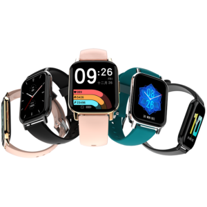 [24 Sports Modes] DOOGEE CS2 1.69 inch Full Touch Screen Dynamic Heart Rate Monitor 300mAh Long Standby IP68 Waterproof