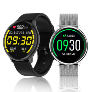 [30Days Long Standby] Bakeey R7 1.22 inch Touch Screen Heart Rate Blood Pressure Monitor Multi-Sport Modes Remote Contro