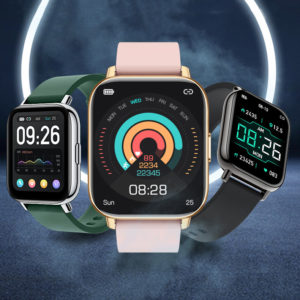 [30Days Standby] Bakeey P32 1.65 inch Touch Screen Heart Rate Blood Pressure Oxygen Monitor Music Player Multi-Sport Mod