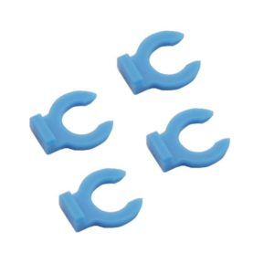 BUJIATE® 1Pcs Blue Buckle pc4-01/pc4-m6 Pneumatic Connector for 4mm Teflons Tube Fixed for 3D Printer Accessories