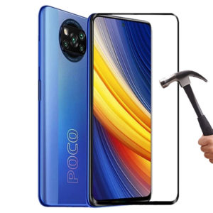 Bakeey 1/2/3PCS for POCO X3 PRO / POCO X3 NFC Screen Protector 5D Curved Edge Full Coverage Anti-Explosion Tempered Glas