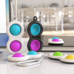 Bakeey Fidget Reliver Stress Phone Finger Ring Holder Push It Bubble Antistress Toys Adult Children Sensory Toy to Relie