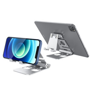 BlitzWolf® BW-TS4 3 in 1 Tablet/Phone Holder Portable Foldable Online Learning Live Streaming Desktop Stand Watch Tablet
