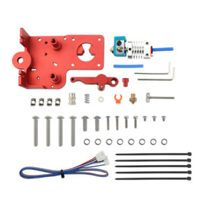 Dotbit Upgraded Ender-3/3S/V2 Extruder Dual Gear Proximity Mounting Plate Kit for Creality 3D 3D Printer Part