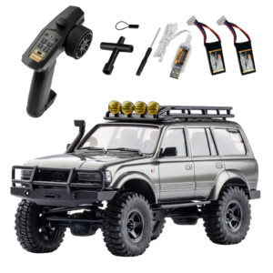 Eachine FMS 1/18 2.4G Land Cruiser 80 For TOYOTA Waterproof Crawler Off Road RC Car Vehicle Models RTR Remote Control Ca
