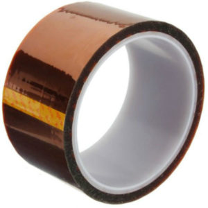 Excellway High Temperature Heat Resistant Tape Polyimide 50MM x 30M