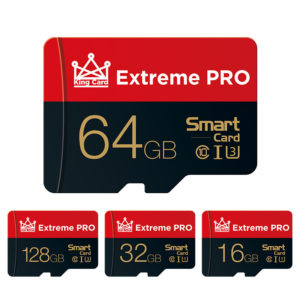Extreme Pro High Speed 16GB 32GGB 64GB 128GB Class 10 TF Memory Card Flash Drive With Card Adapter For iPhone 12 For Sam