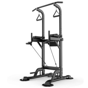 MIKING 045 Multifunction Power Tower Adjustable Horizontal Bar Pull-ups Dip Stands Pull Up Bar Gym Strength Training Fit