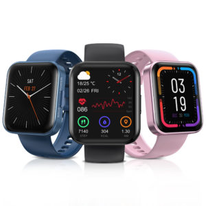 [Real SpO2 Monitor] KOSPET MAGIC 3 1.71 inch 3D Curved Full Touch Screen Heart Rate Blood Pressure Monitor 50+ Watch Fac