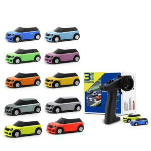 Turbo Racing RTR 1/76 Two RC Cars 3rd Anniversary Version Mini Full Proportional Kids Toys