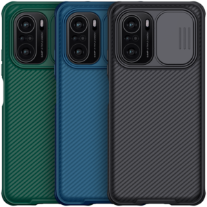 [Upgrade Version] Nillkin for POCO F3 Global Version Case Bumper with Lens Cover Shockproof Anti-Scratch TPU + PC Protec