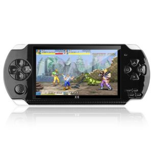 X6 8GB 128-bit 10000+ Games 4.3 inch PSP High Definition Retro Handheld Video Game Console Game Player