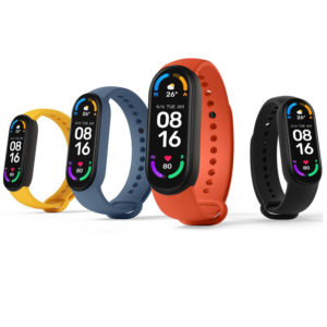 Xiaomi Mi Band 6 1.56 Inch 326 PPI AMOLED Retina Screen Wristband Heart Rate Blood Oxygen Monitor 130+ Watch Faces 30 Sp