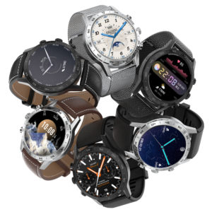 [bluetooth Call] DT NO.1 KK70 1.39 inch 454*454px Screen Split Display Rotary Button ECG Heart Rate Monitor 100+ Dials D