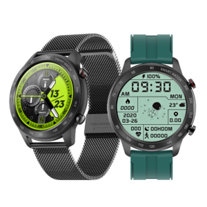 [bluetooth Calling] Bakeey MX5 1.3 inch Full Touch Screen BT5.0 Heart Rate Blood Pressure Oxygen Monitor IP68 Waterproof